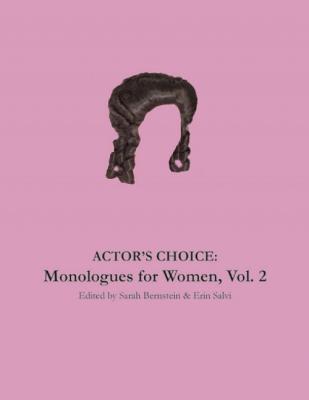 Actor's Choice By Bernstein, Sarah (EDT)/ Salvi, Erin (EDT)