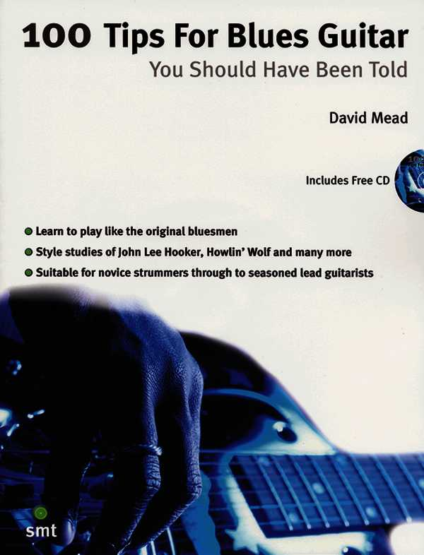 100 Tips for Blues Guitar By Mead, David